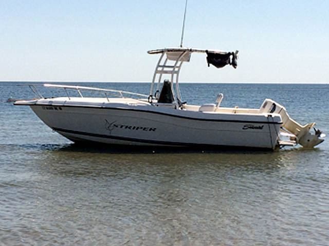 t top for 2000 Striper Seaswirl  center console boat