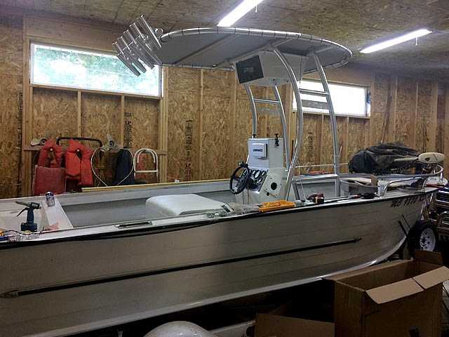 t top for 1968 Starcraft Offshore Custom center console boat