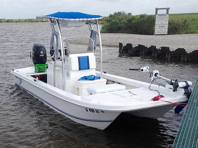 T top for 2014 Twin Vee 22' Bay Cat boats 158582-1
