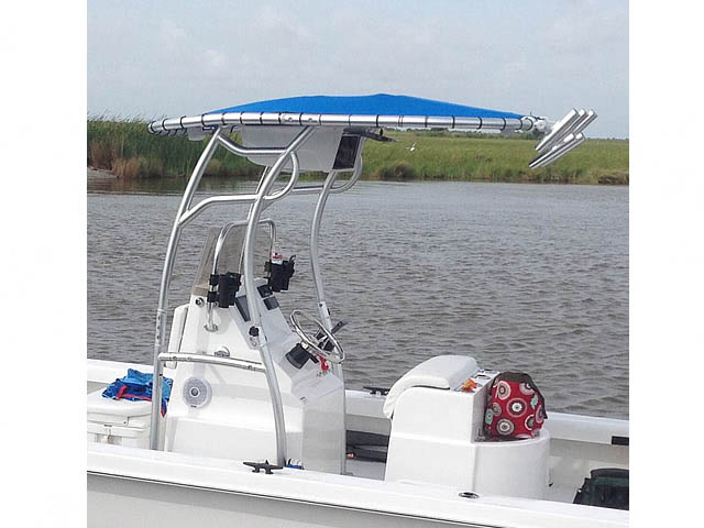 T top for 2014 Twin Vee 22' Bay Cat boats 158582-3