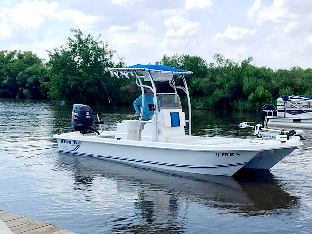 T top for 2014 Twin Vee 22' Bay Cat boats 158582-7