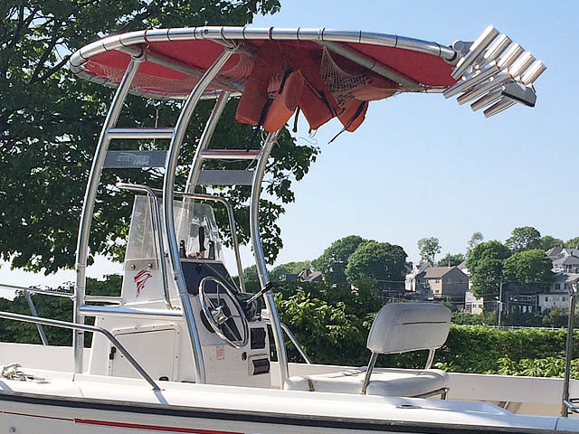 T top for 1998 Boston Whaler 17' Outrage boats 158613-2