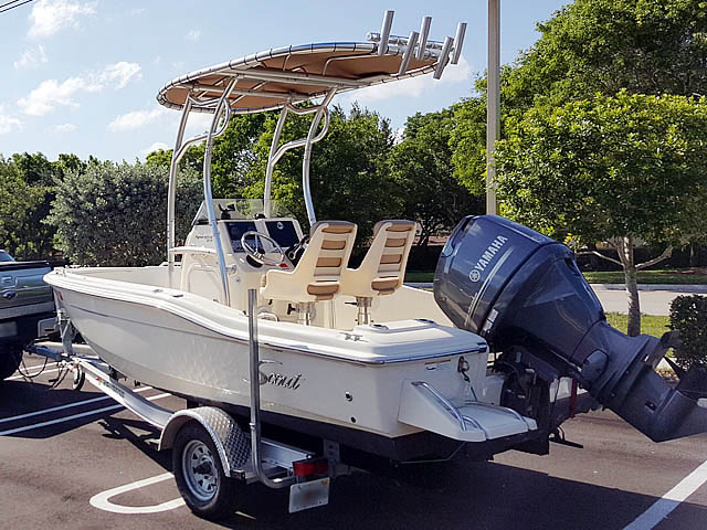 T top for 2013 Scout 175 Sportfish boats 159020-2