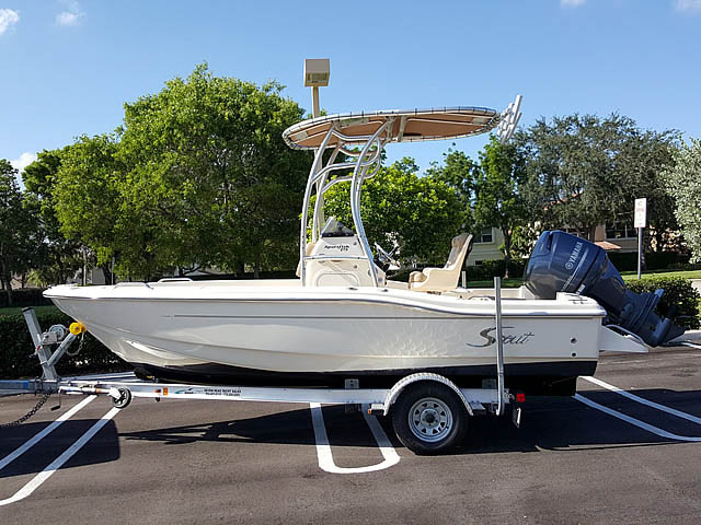 T top for 2013 Scout 175 Sportfish boats 159020-4