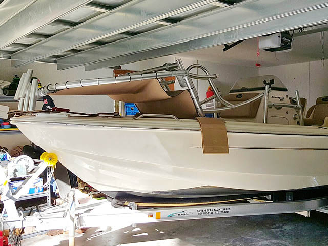 T top for 2013 Scout 175 Sportfish boats 159020-8