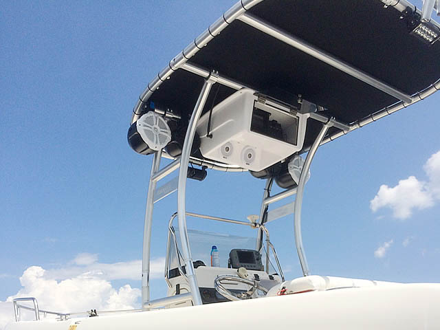 T top for 2007 Cobia 214 boats 159712-5