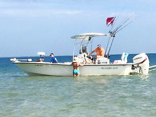 T top for 2008 Blazer Bay 2400 boats 161500-2