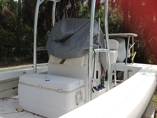 T top for 21' 1996 Action Craft Coastline Island Runner boats 161520-3