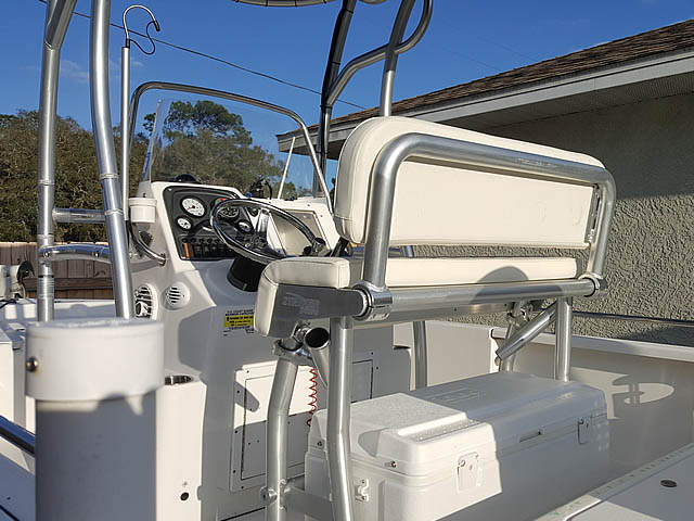 t top for  center console boat