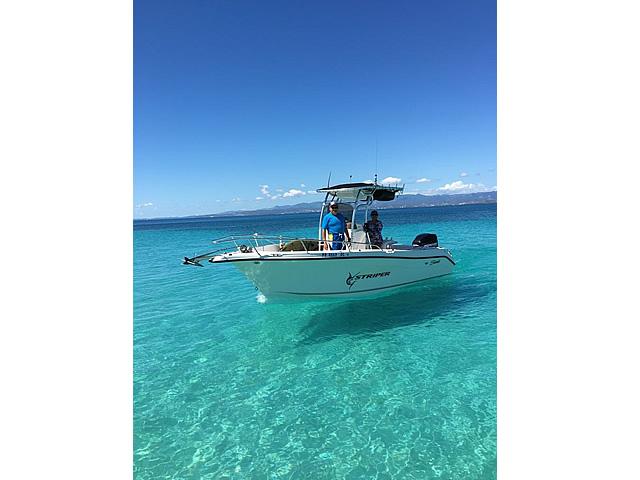 T top for 2005 SeaSwirl Striper 25 Center Console  boats 184112-1