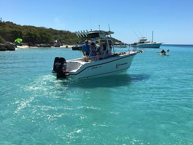 T top for 2005 SeaSwirl Striper 25 Center Console  boats 184112-3