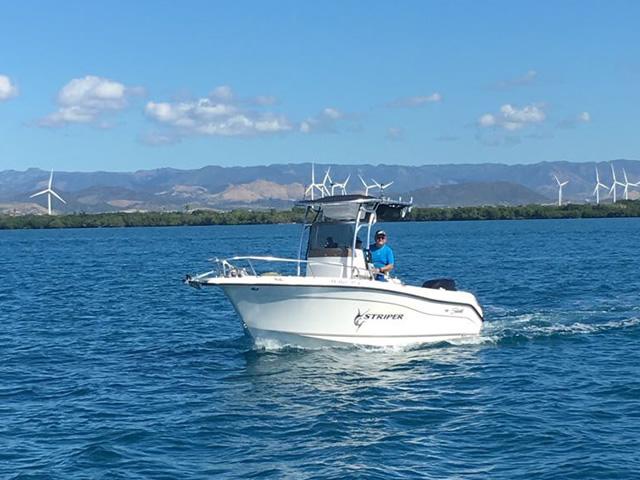 T top for 2005 SeaSwirl Striper 25 Center Console  boats 184112-4