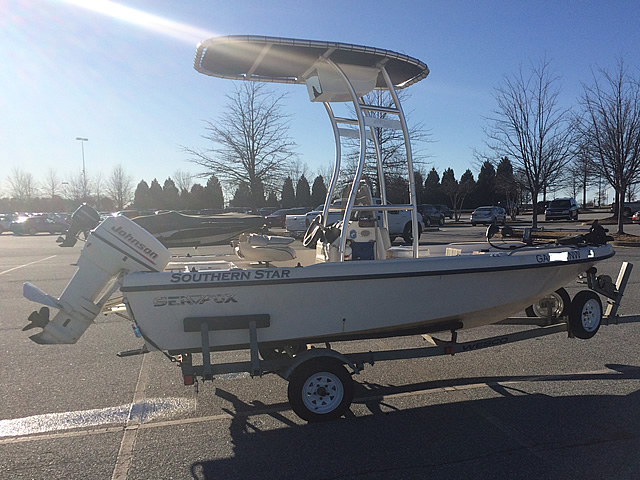 T top for 1999 Sea Fox 16' CC boats 184114-6