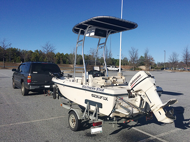 T top for 1999 Sea Fox 16' CC boats 184114-7