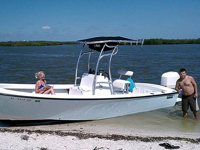 t top for 1974 Aquasport center console boat