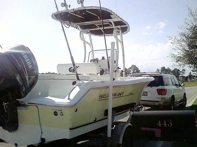 T top for 2008 Sea Hunt boats 33938-1