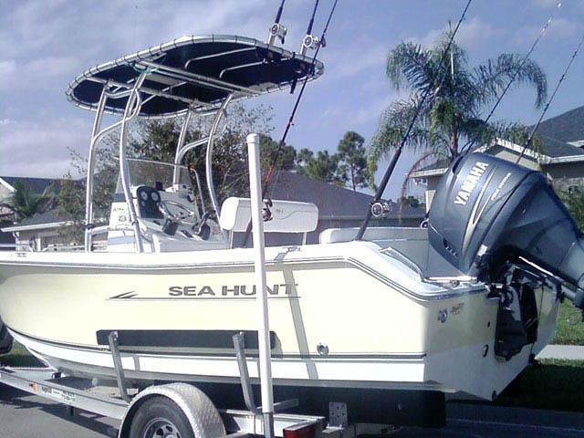 T top for 2008 Sea Hunt boats 33938-2