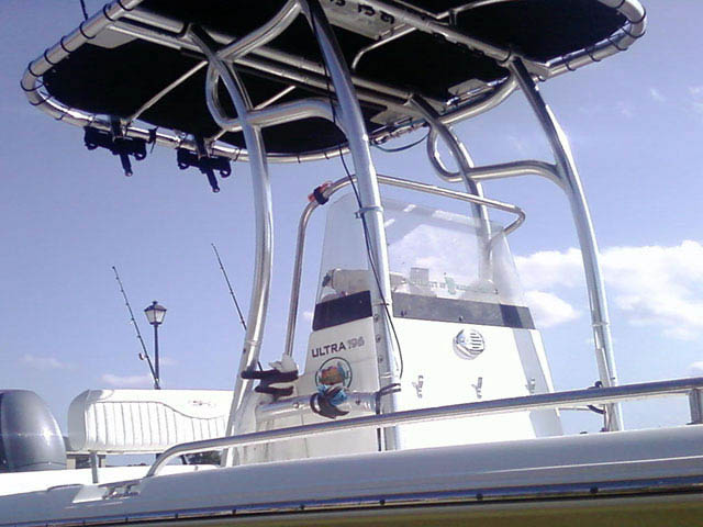 T top for 2008 Sea Hunt boats 33938-3