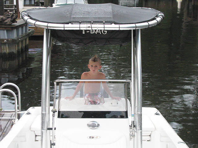 T top for 2009 Sea Hunt 177CC boats 34068-2