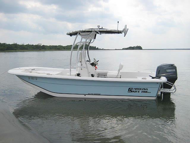 t top for 2010 Carolina Skiff 198 DLV Elite center console boat