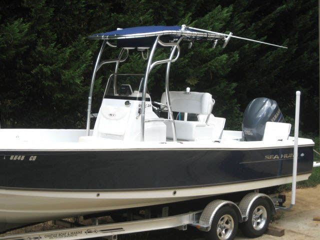 T top for 2011 Sea Hunt BX24 Bay Boat boats 34485-4