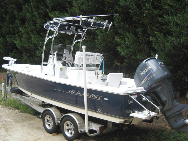 T top for 2011 Sea Hunt BX24 Bay Boat boats 34485-5