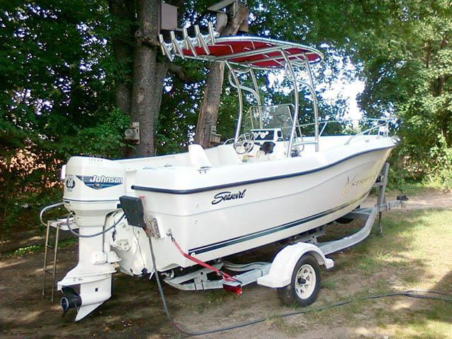 T top for 2000 Seaswirl Stiper boats 34486-2