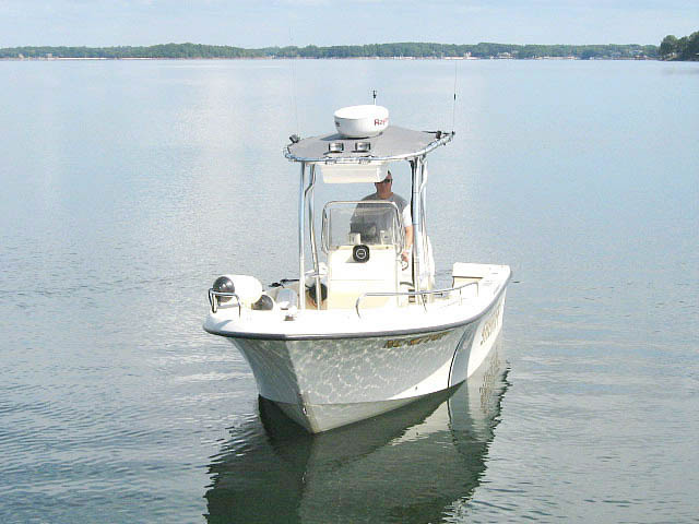 t top for 2005 Maycraft 2000 center console boat