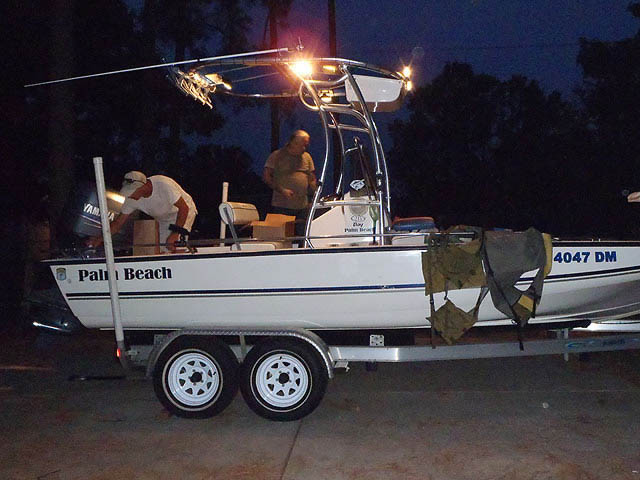 T top for 2006 palm beach 215 bay boats 34831-2