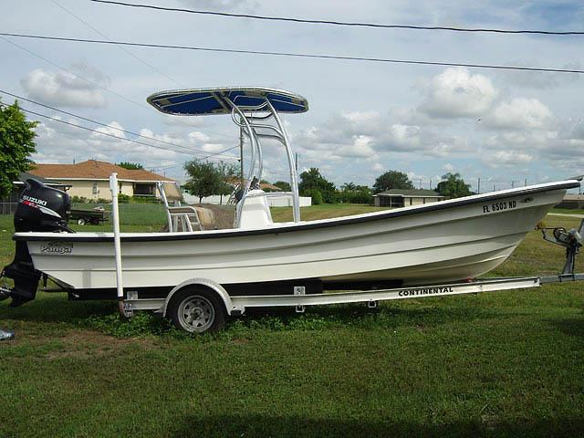 T top for 2006 Panga Boca Grande boats 34982-2