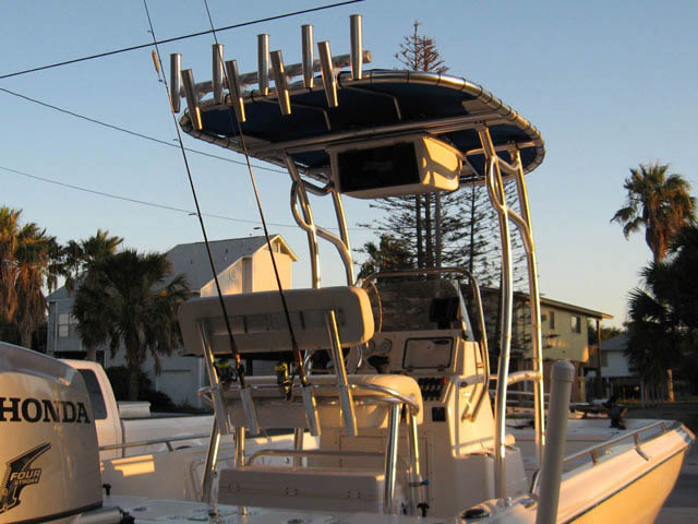 T top for 2008 Nautic Star 2200 Bay boats 35005-3