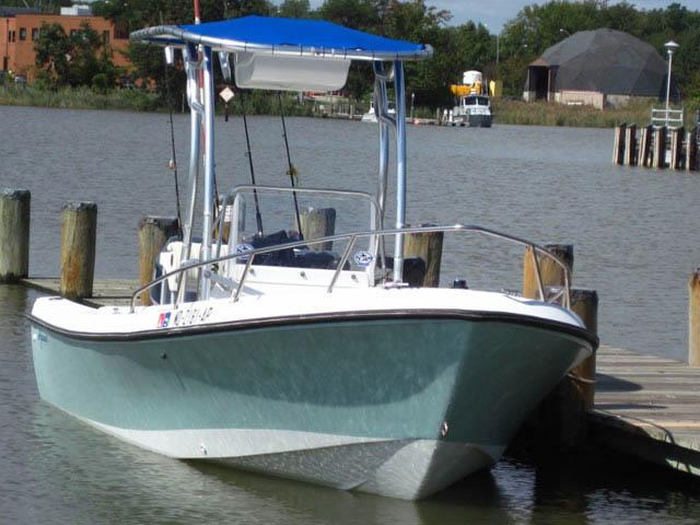 T top for 1987 Aquasport/Osprey 200 boats 35235-2