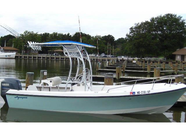 T top for 1987 Aquasport/Osprey 200 boats 35235-3