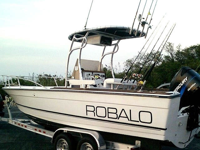 T top for 1987 Robalo boats 35285-2