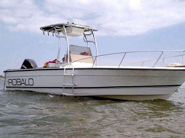 T top for 1987 Robalo boats 35285-3