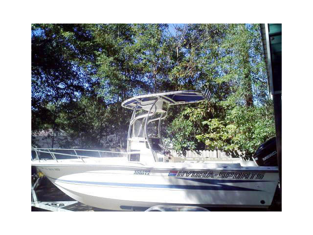 t top for 1990 HydraSports Vector 2200 CC center console boat