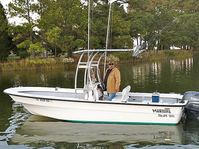 t top for 2003 Maritime Skiff 20D center console boat