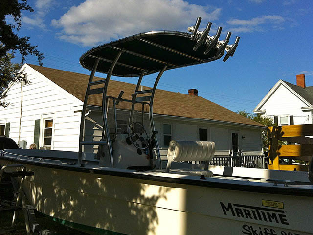 T top for 2003 Maritime Skiff 20D boats 35464-7