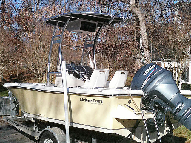 t top for McKee Craft 184 center console boat