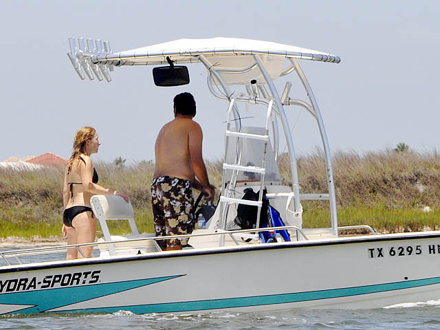 T top for 96 Hydrasport Hydraskiff boats 37435-4