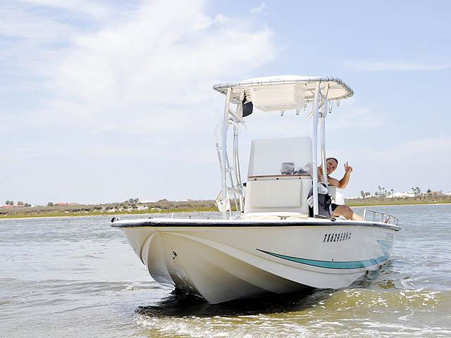 T top for 96 Hydrasport Hydraskiff boats 37435-7