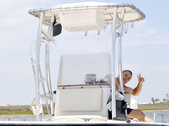 T top for 96 Hydrasport Hydraskiff boats 37435-8