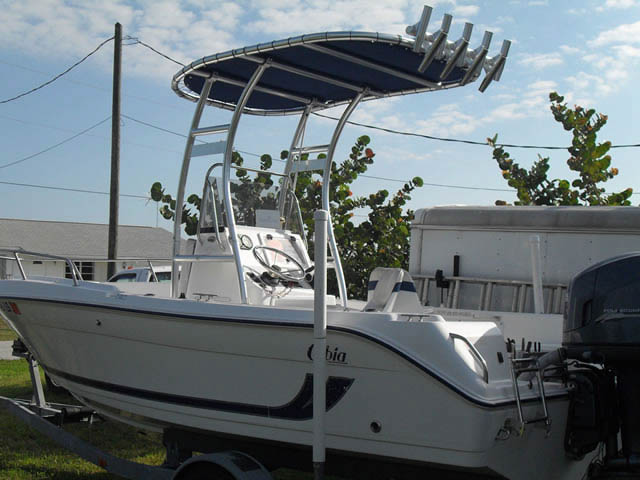 T top for 2001 Cobia boats 37509-2