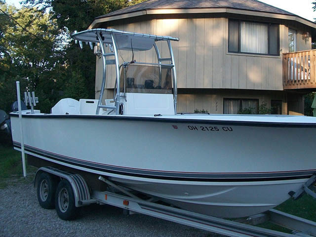 T top for 1989 Seacraft 23'3 boats 37570-2