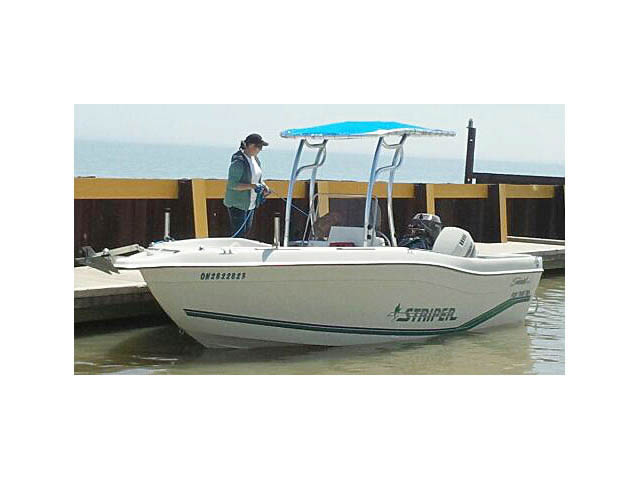 t top for 1996 Striper Seaswirl 21Ft CC center console boat