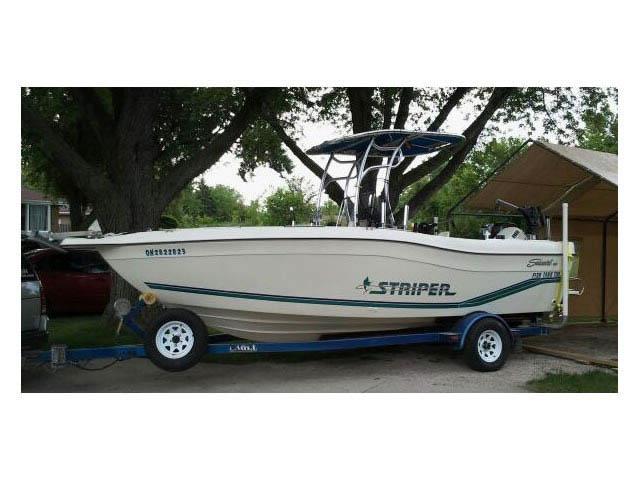 T top for 1996 Striper Seaswirl 21Ft CC boats 37593-2