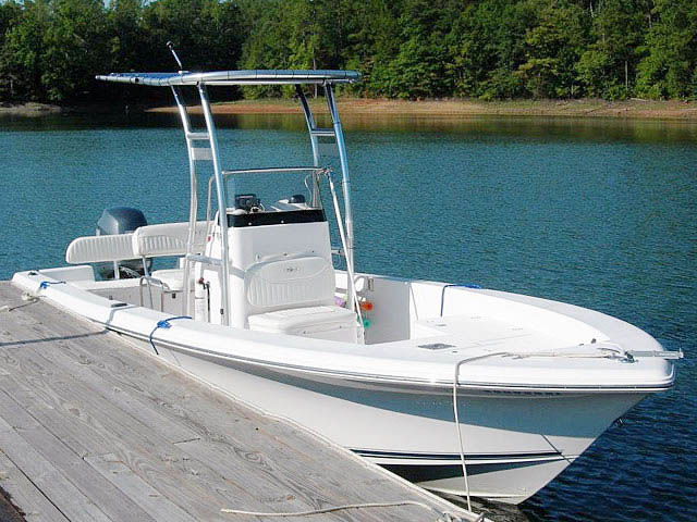 t top for Sea Hunt BX22-T center console boat