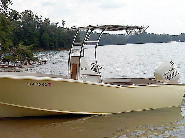 T top for Custom cold moulded 20' carolina style boats 37637-2