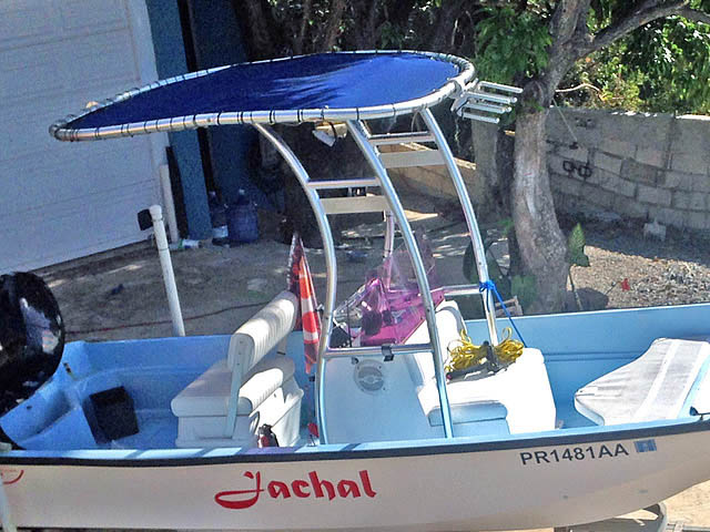 T top for Boston Whaler 17ft Montauk 1976 boats 37824-3