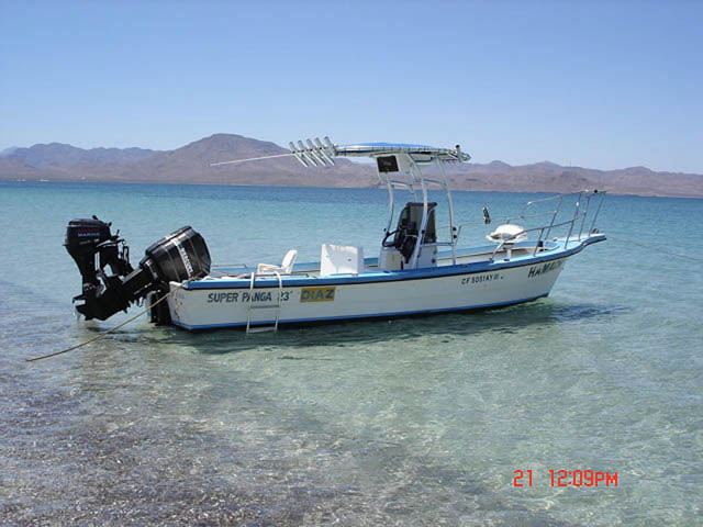 T top for 1992 Diaz Super Panga 23' boats 39705-2